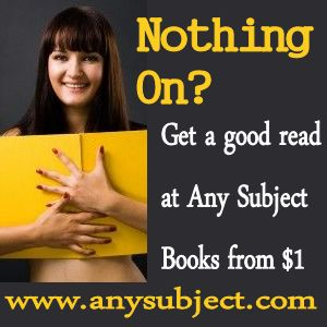 Any Subject Kindle Books